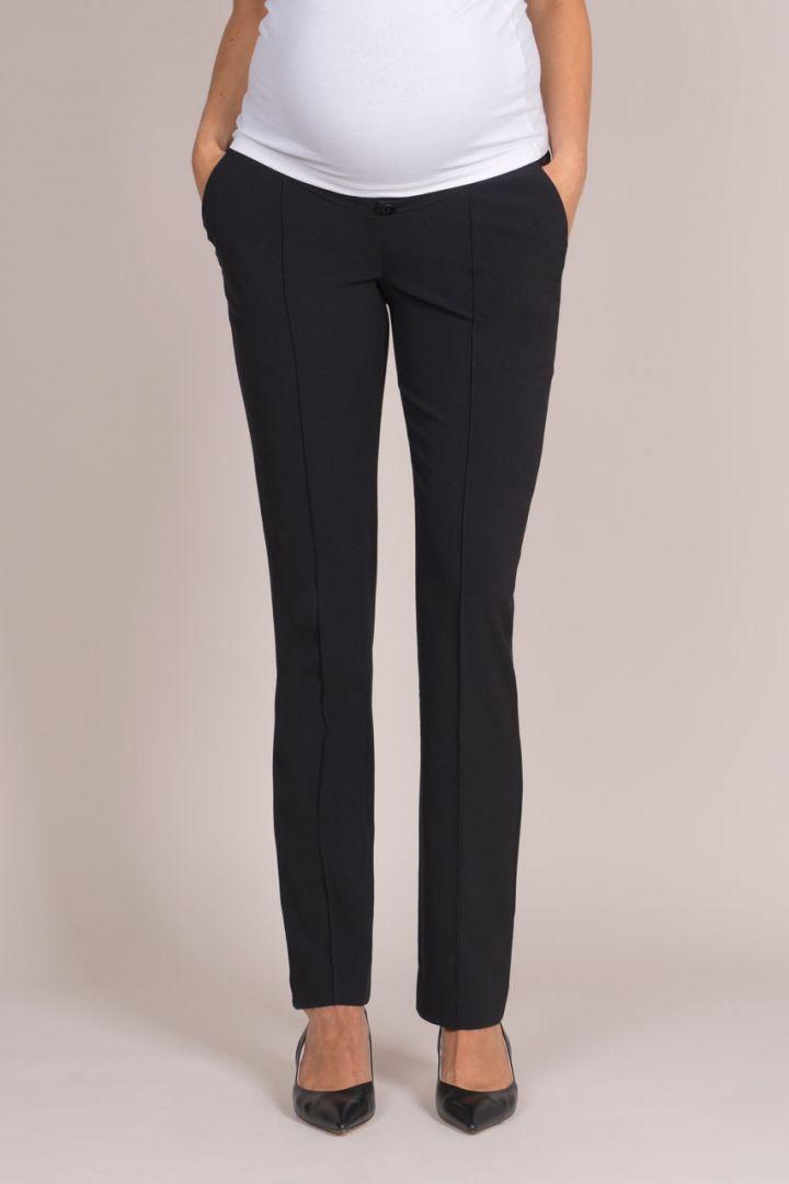 Straight Leg Black Maternity Trousers