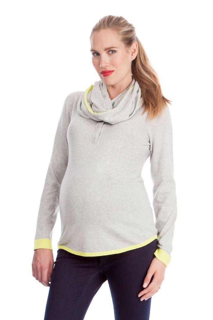 Marlow Pullover mit Still-Kragen
