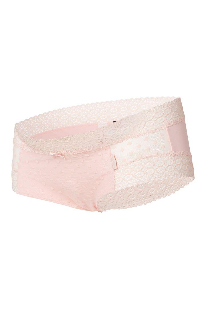 Mesh Maternity Briefs pink