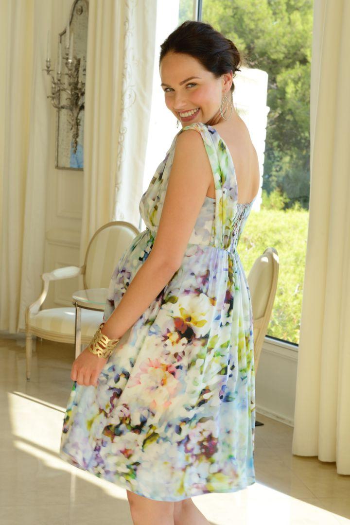 Felicity Umstandskleid aus Seide
