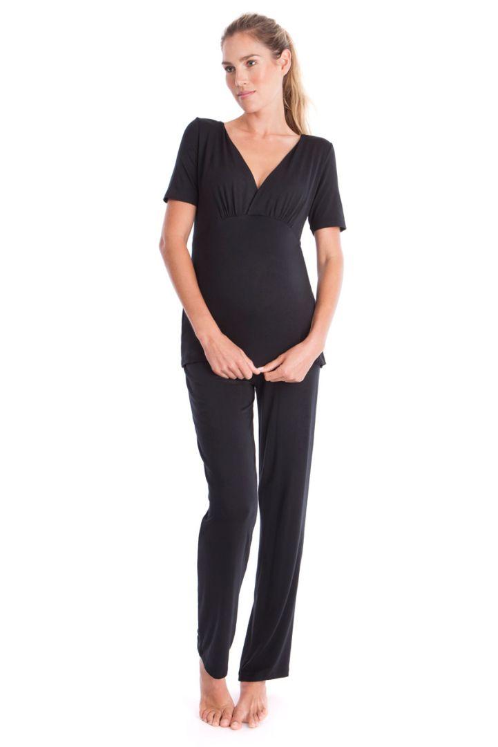 Maternity and Nursing Pyjamas shortsleeve