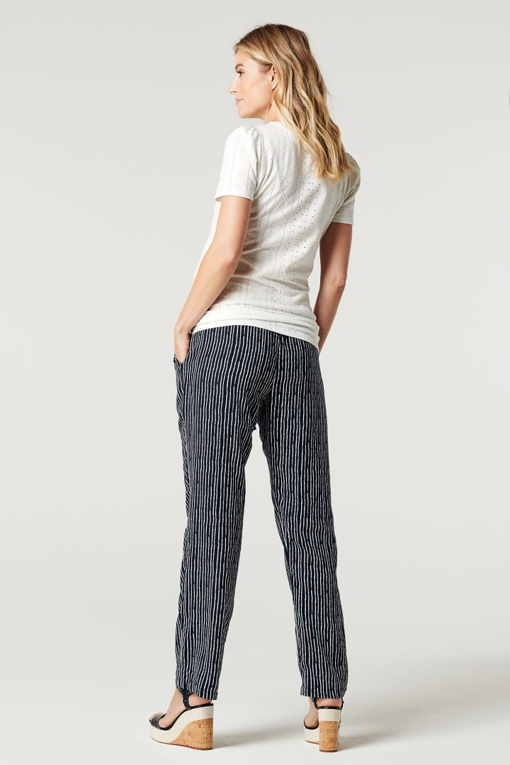 Sailor Matnerity Trousers with Stripes