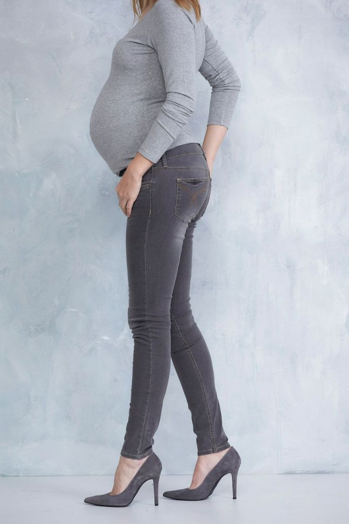 Slimfit Maternity Jeans grey