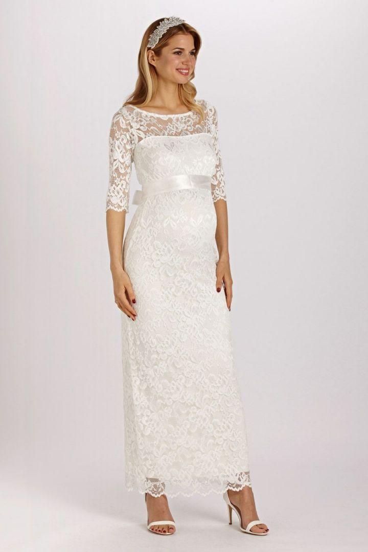 Lace Wedding Dress long