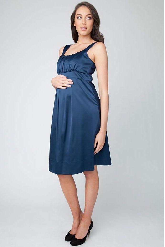 Greta Kleid mitternachtsblau