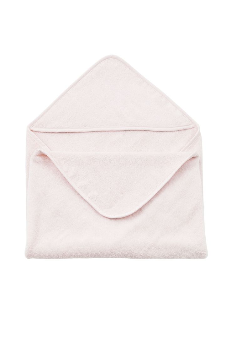 Hooded Baby Bath Towel pink