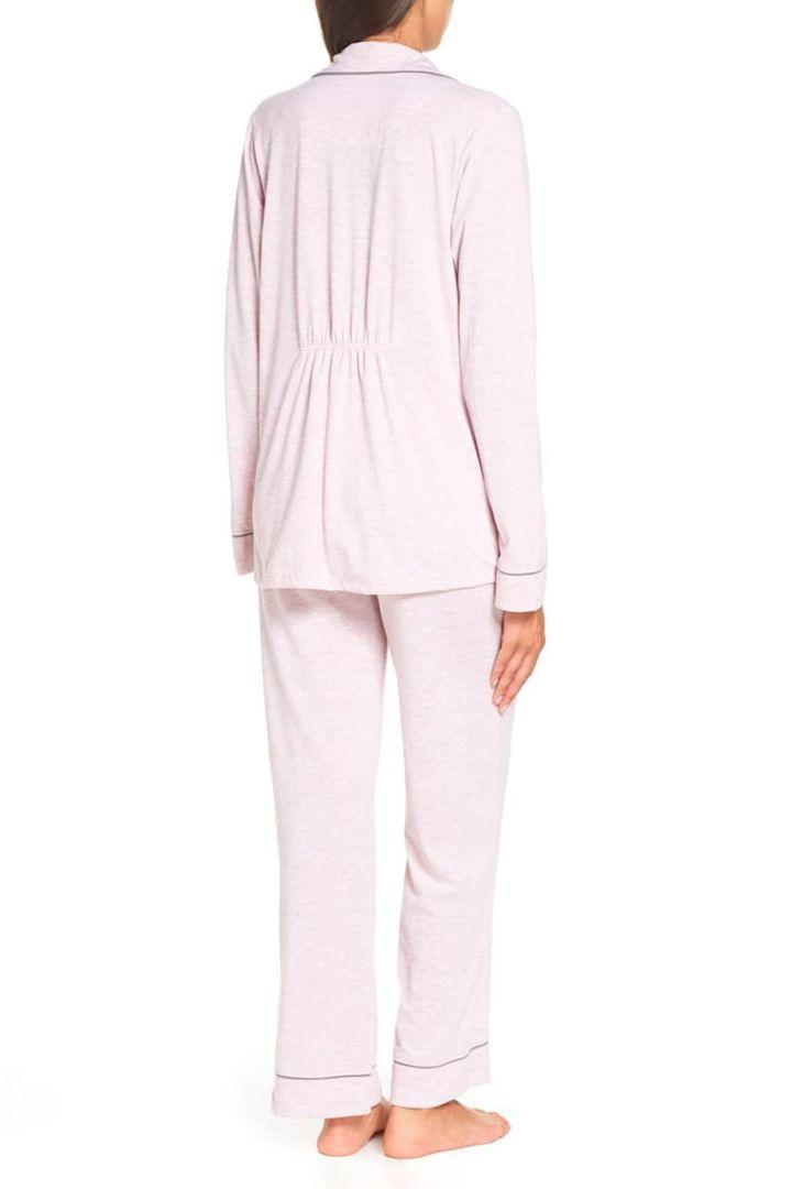 Boyfriend Umstands- und Still Pyjama rosa