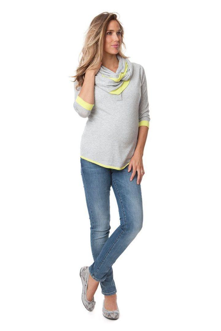 Harlow Sweater with Nursing Collar