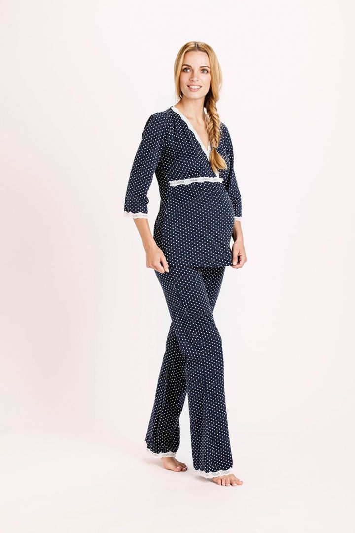 Dottie Umstands- und Still-Pyjama