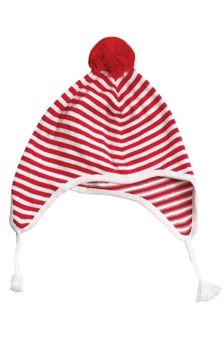 Weihnachts-Strickmütze