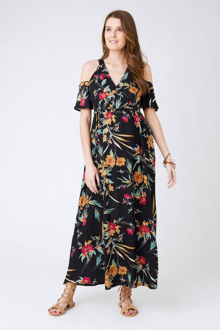 Maxi Maternity Dress Paradiso