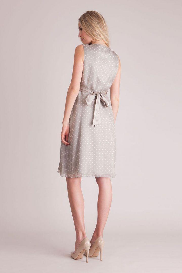 Cassandra Silk Dress champagne