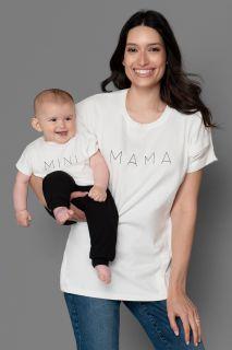 Mama Stillshirt und Baby T-Shirt im Set aus Bio-Baumwolle