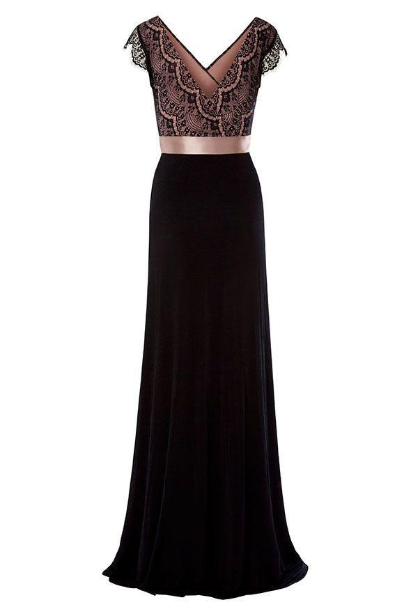 Vintage Rose Dress long