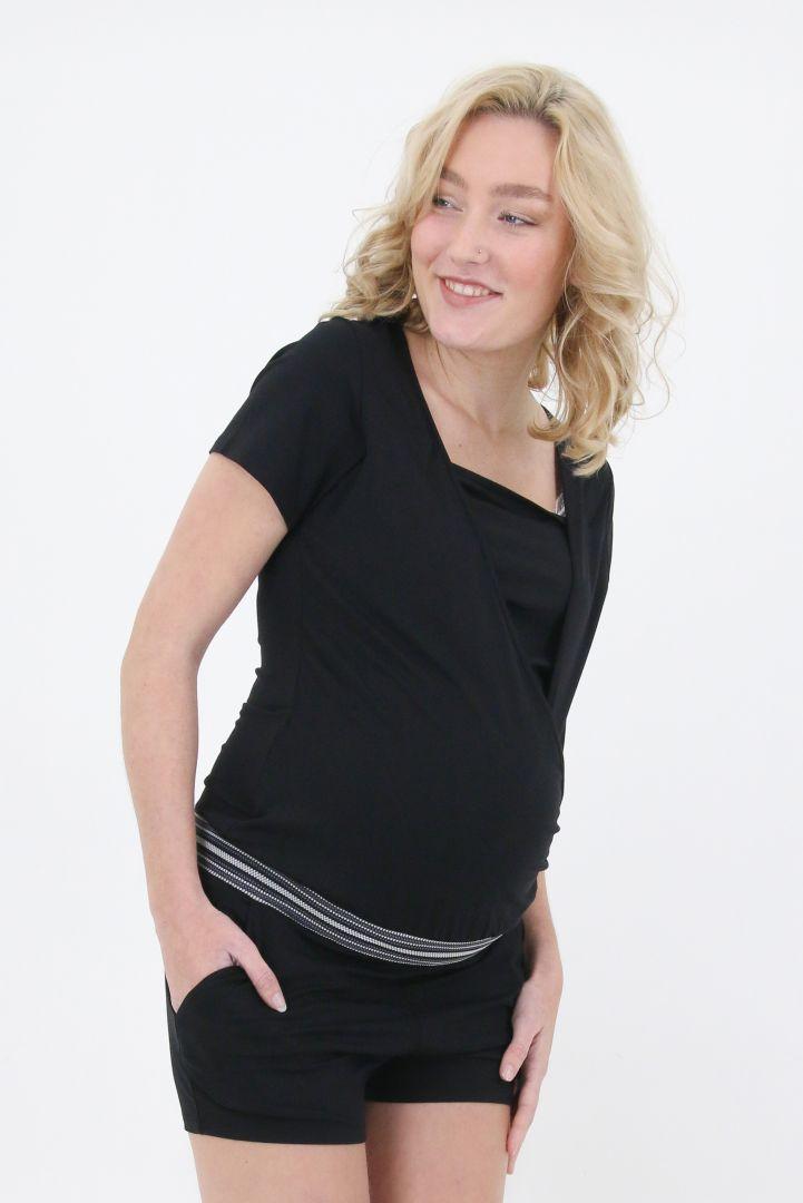 Tencel Maternity and Nursing Playsuit