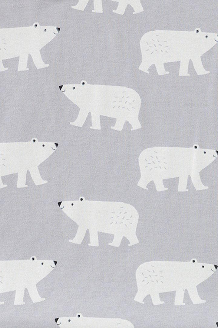 Organic Romper Polar Bear
