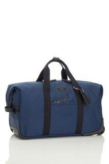 Handgepäck Reise-Wickeltasche zum Ziehen blau