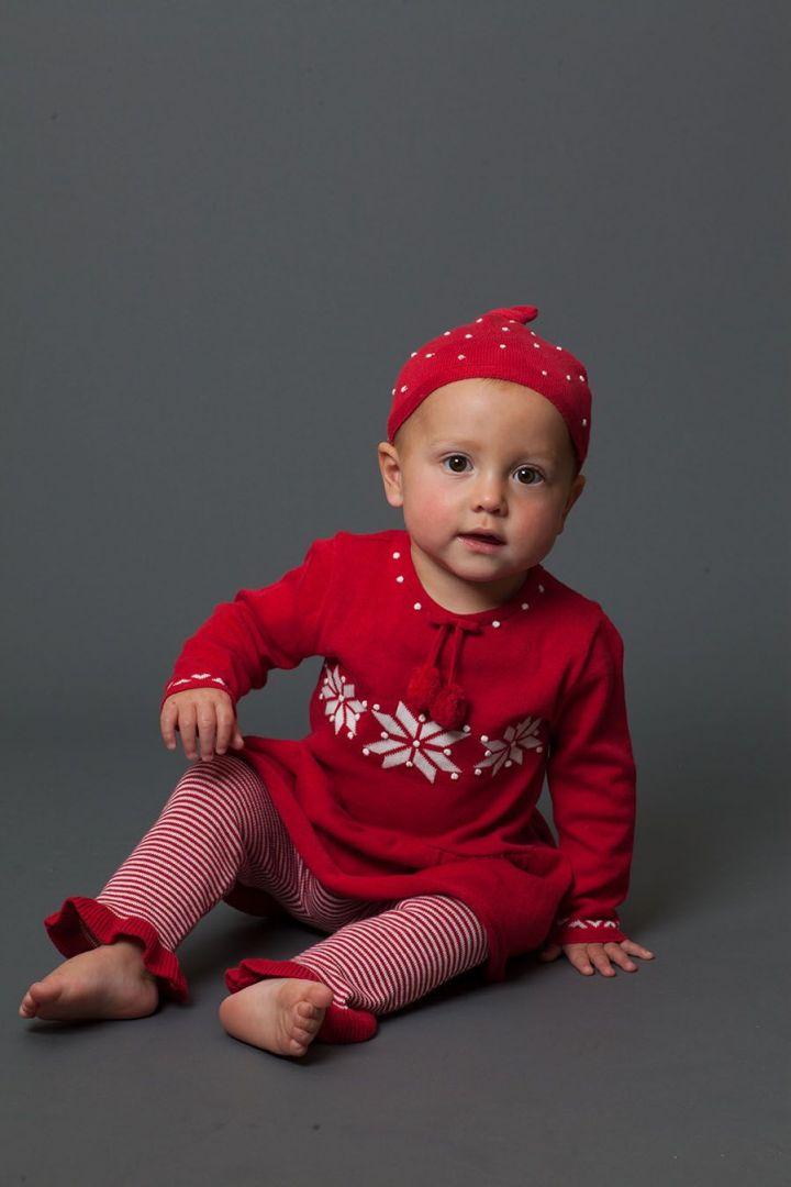 Eisblume Weihnachts-Zweiteiler