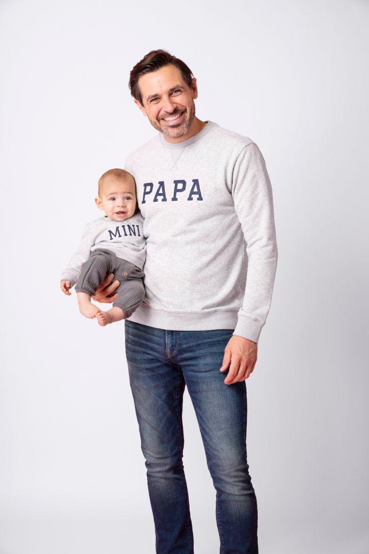 Papa & Baby Partnerlook Set Sweatshirts