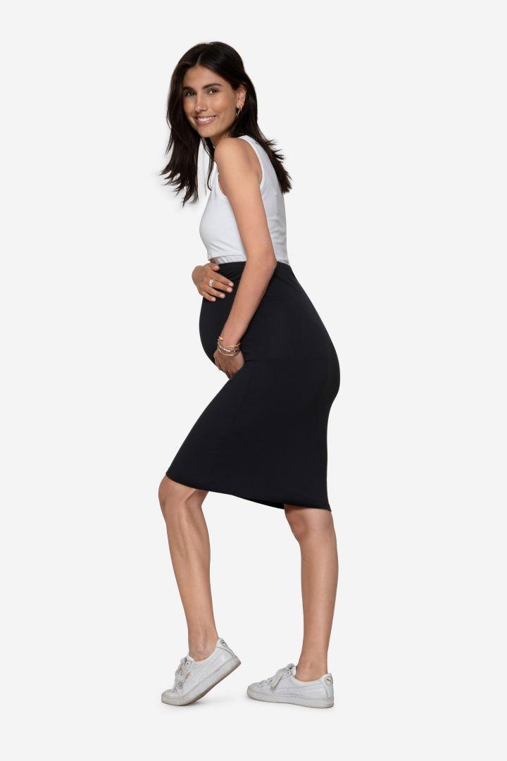 Midi Maternity Skirt made of Bamboo Viscose
