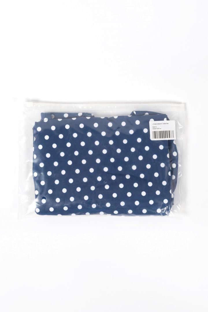 Maternity Tankini Dots blue