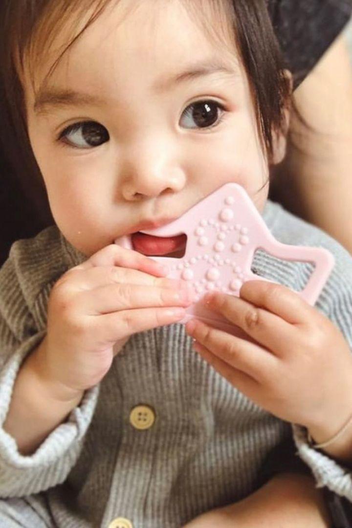 Teething Toy Tiara rose