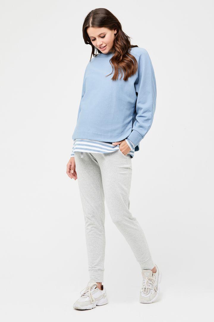 Umstands-Sweater hellblau