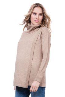 Umstands- und Still-Rollkragen Pullover