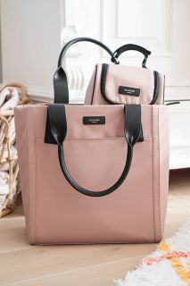 Wickeltasche Shopper rose Storksak