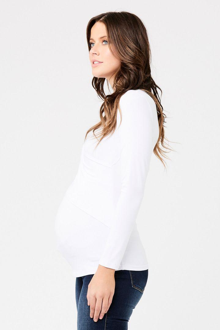 Embrace Umstands- und Stillshirt weiß