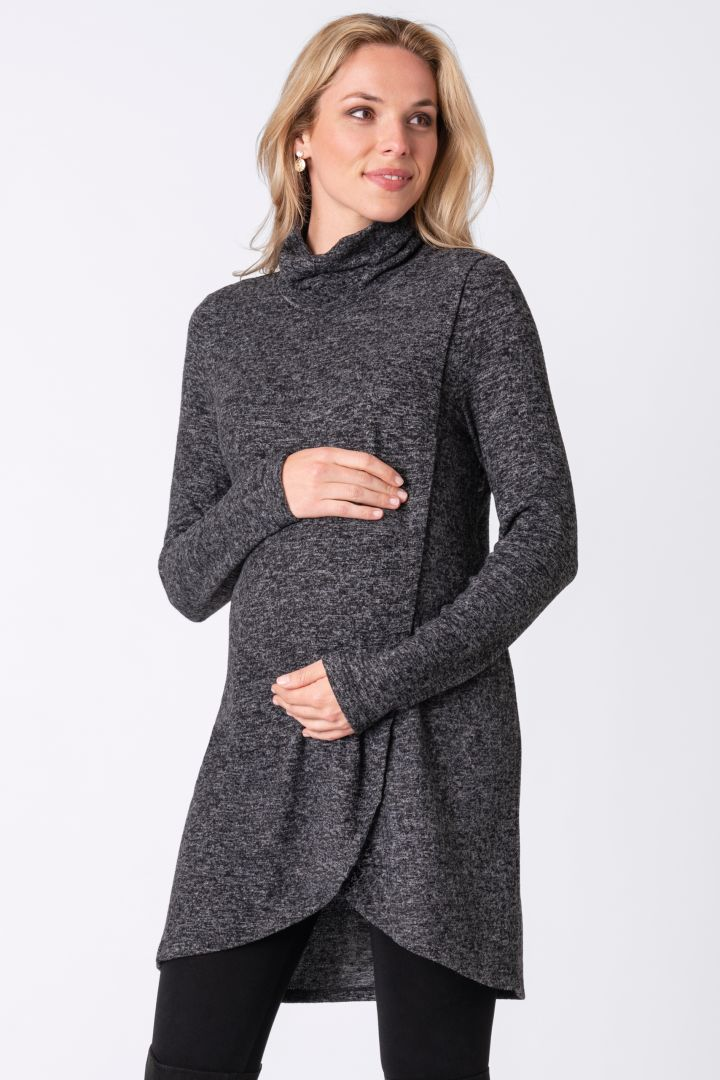 Cross-over Maternity and Nursing Tunic