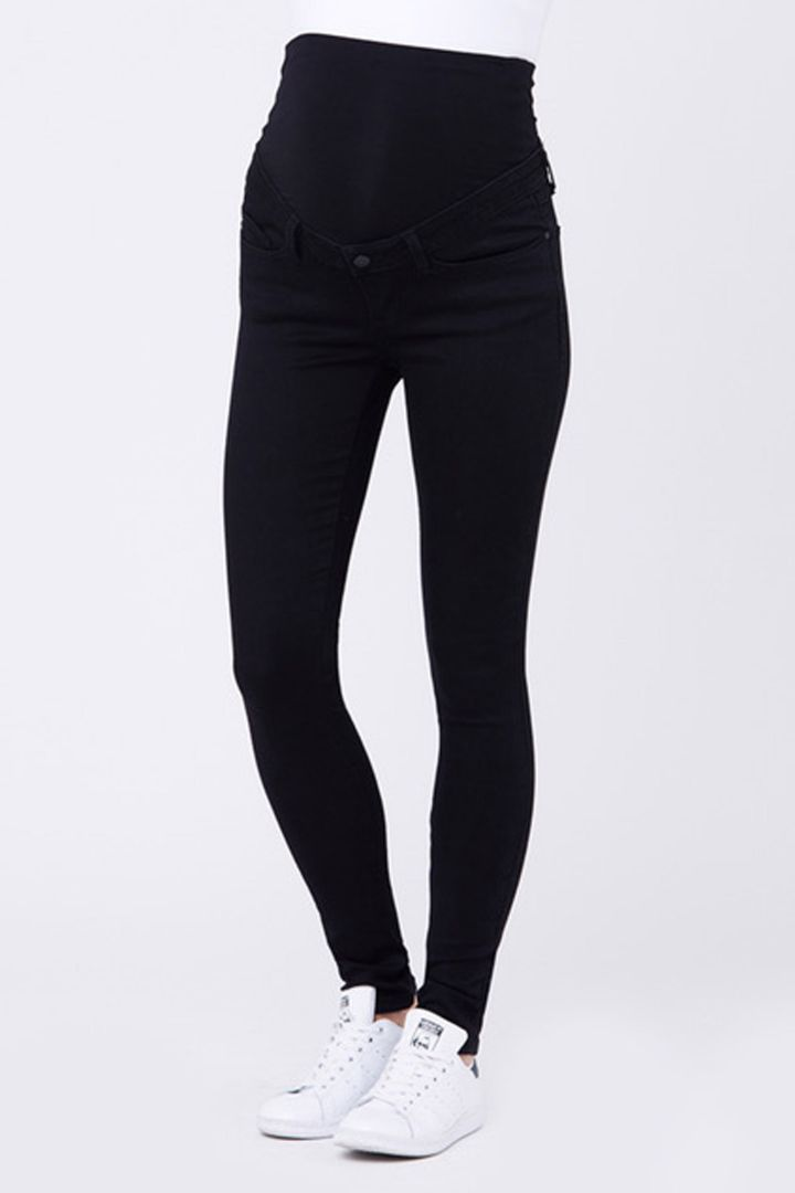 Skinny Maternity Jeggings with top waistband