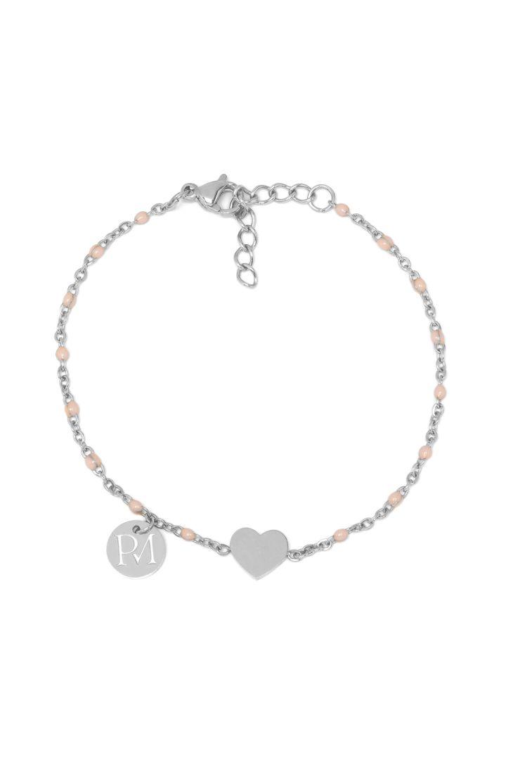 Proud Mama Bracelet Heart silver