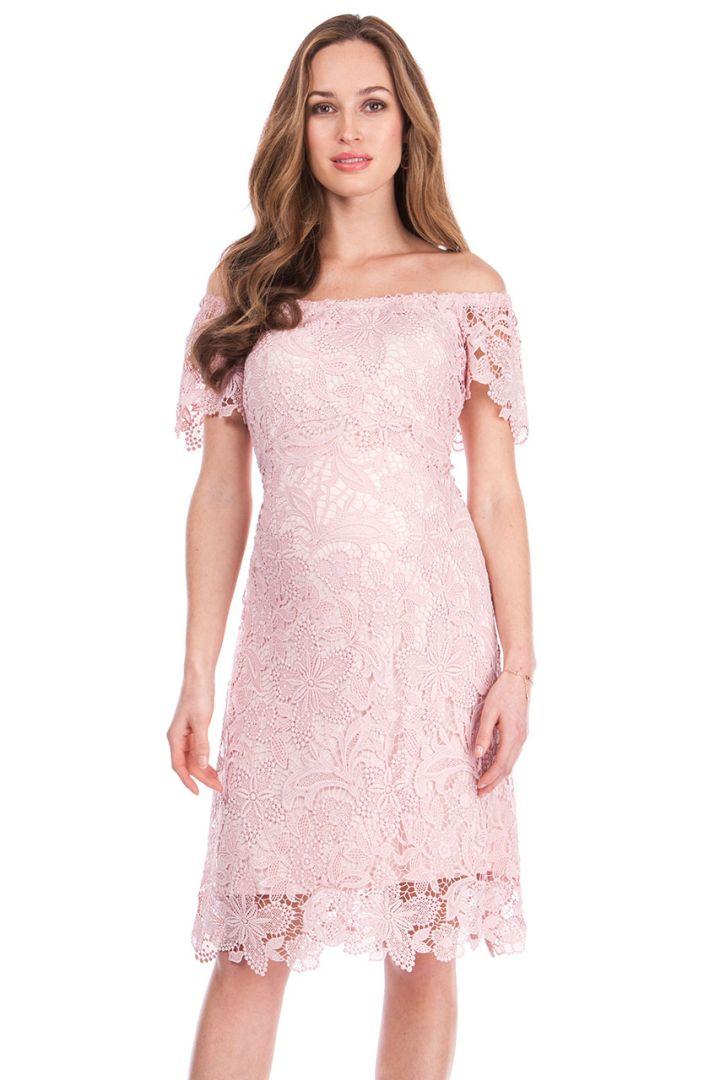 Bohemian Maternity Lace Dress