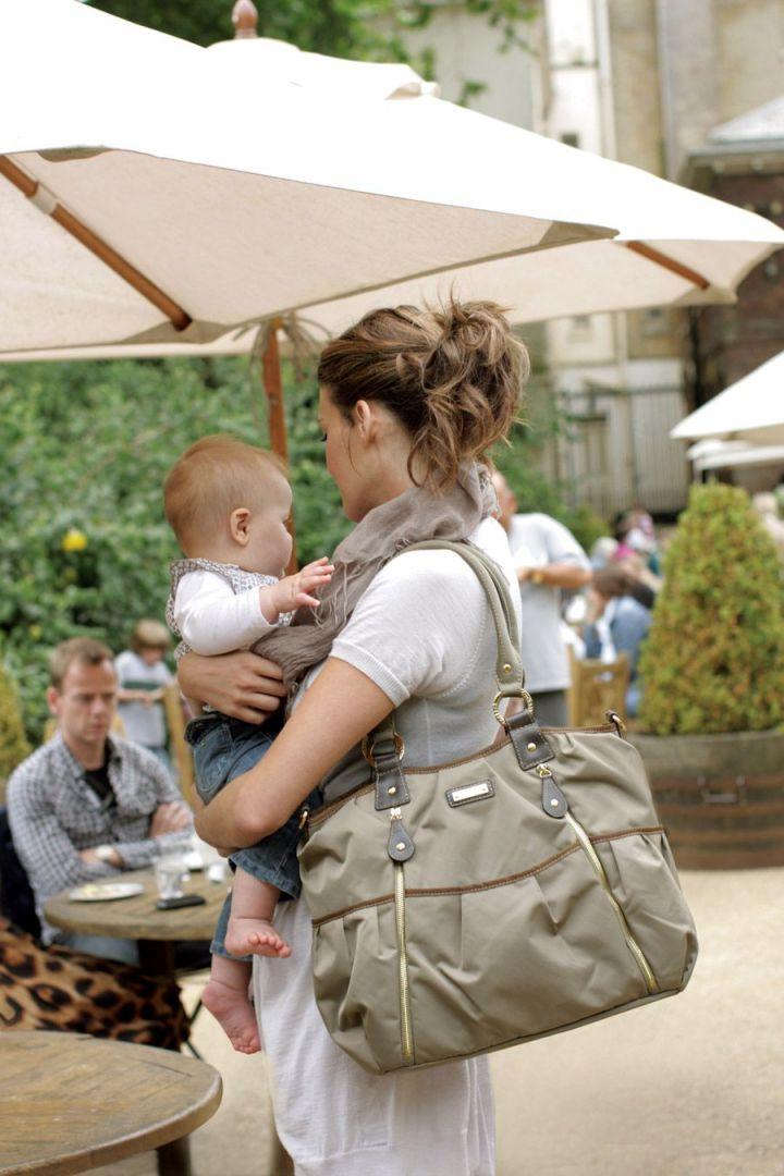 Olivia Changing Bag Storksak olive