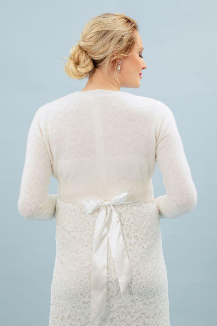 Cashmere bride bolero