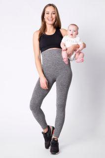 Post Maternity Shaping Umstandsleggings grau