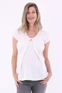 Umstands- und Stillshirt weiß