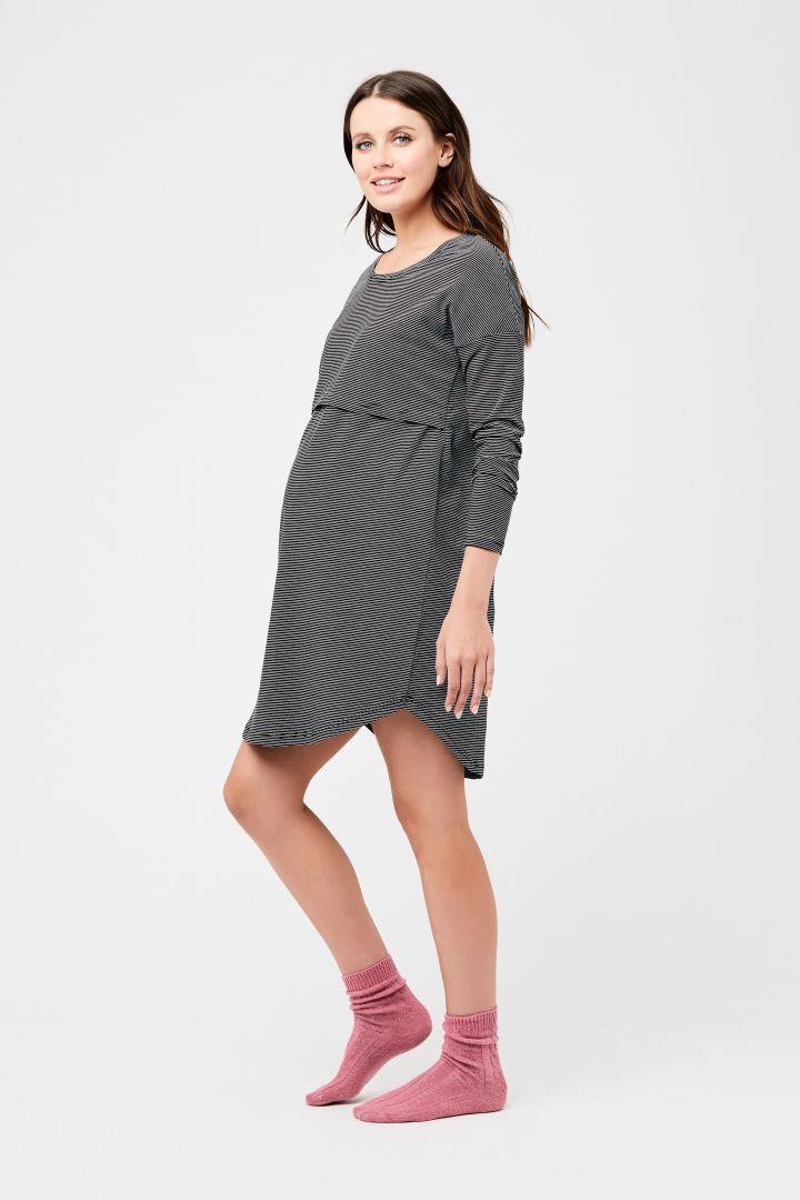 Longsleeve Maternity and Nursing Nightdress