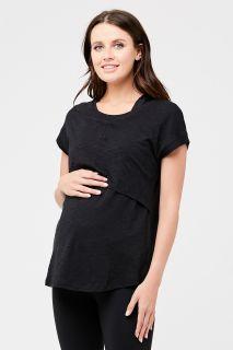 Umstands- und Stillshirt Relax Fit schwarz