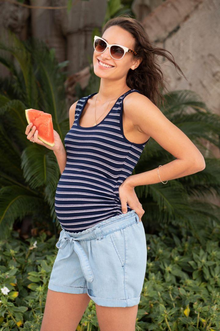 Maternity and Nursing Top Stripe