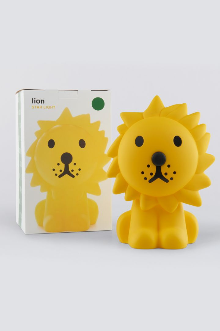 Lion Nursery Lamp Dimmable