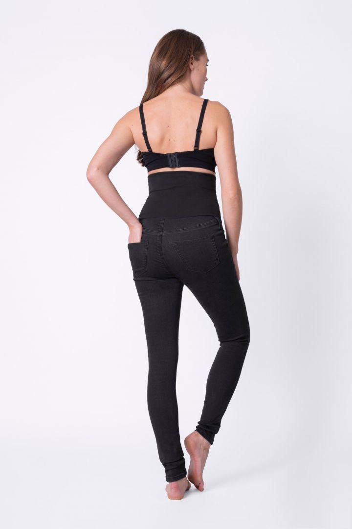 Post Maternity Skinny Jeans black