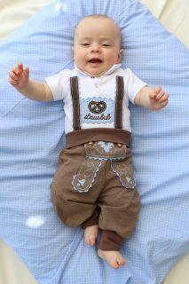 Babytrachtenhose in Lederhosenoptik