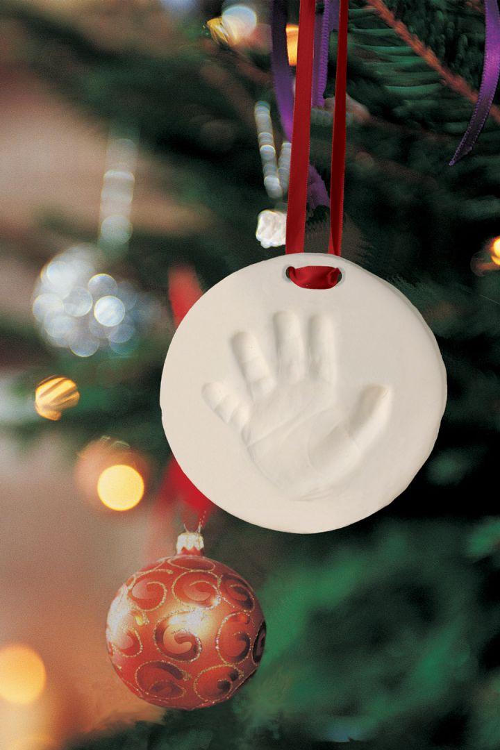 Christmas Decoration Baby Footprint