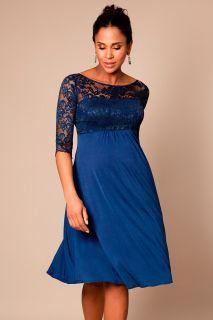 Umstandskleid mit Rückenausschnitt Imperial Blau