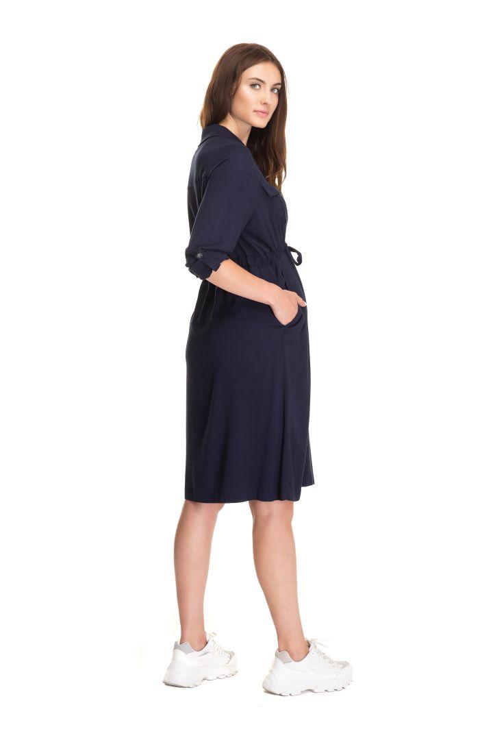 Umstands- und Stillkleid mit verstellbarer Taille