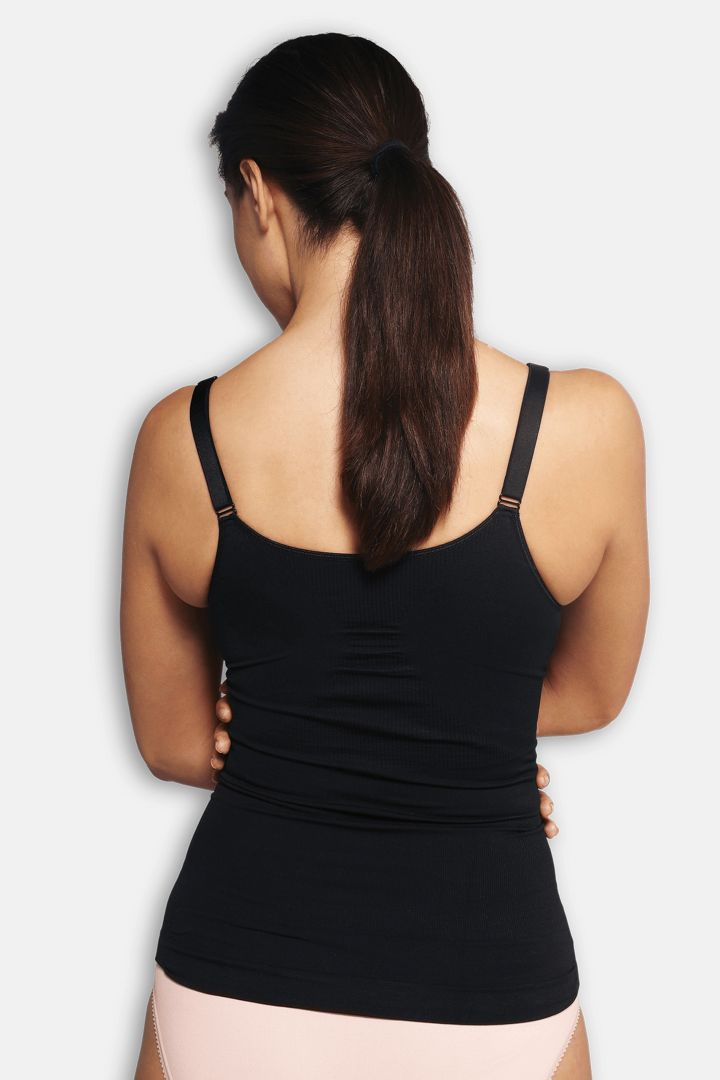Shaping Nursing Cami with Underwires black