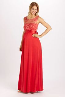 Valencia Kleid sunset red