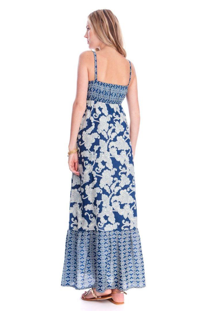 Matilda Maxi Dress Blue